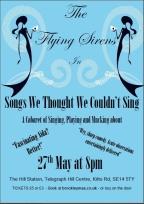 Beth Hayward and Freyja Westdal are The Flying Sirens
